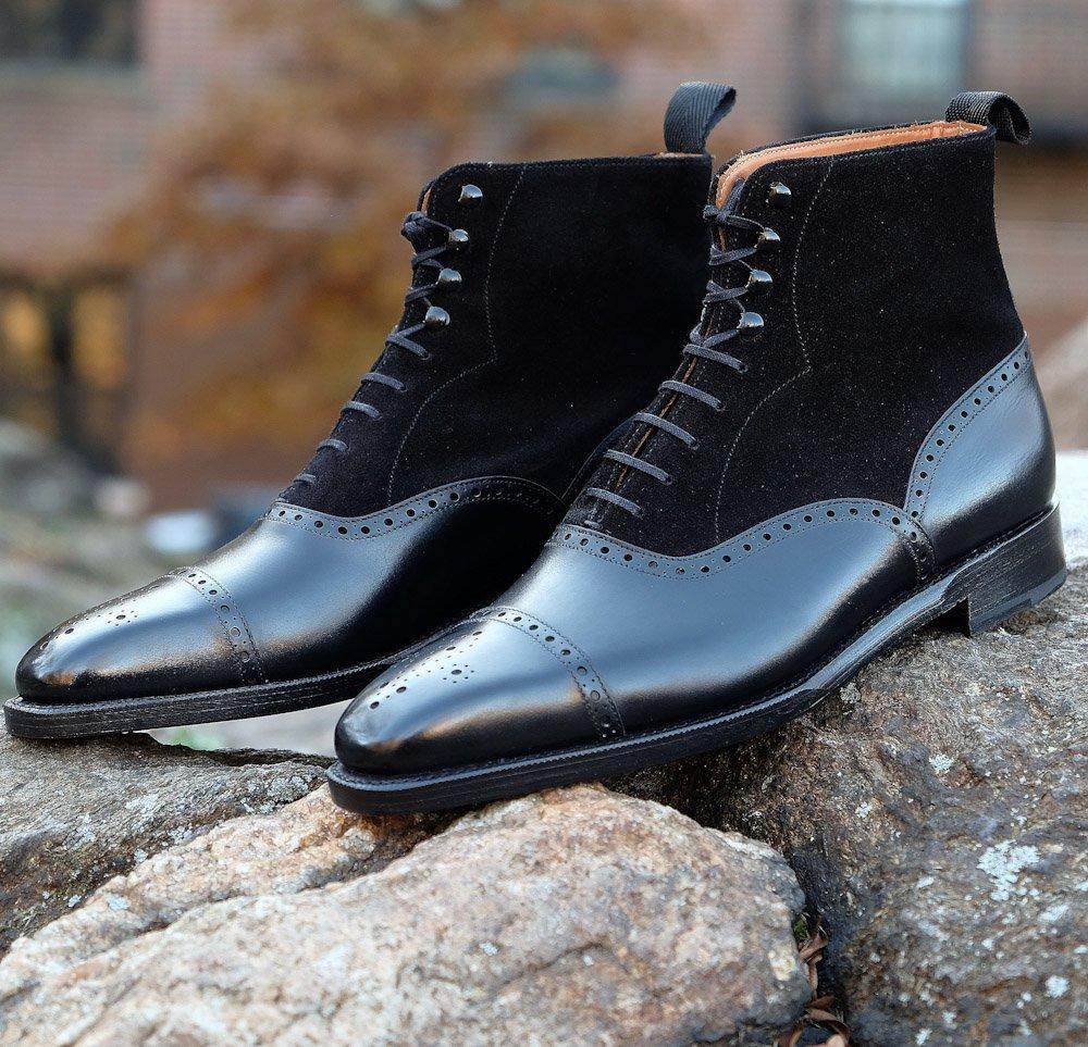 My New Boots - Tweed Balmorals
