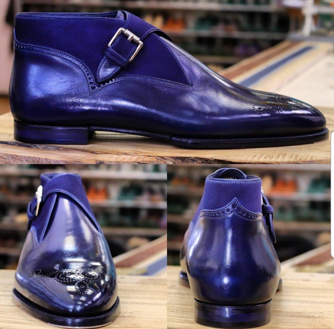 Next Level Chukka Monkstrap Boots - Atelier Zakarian
