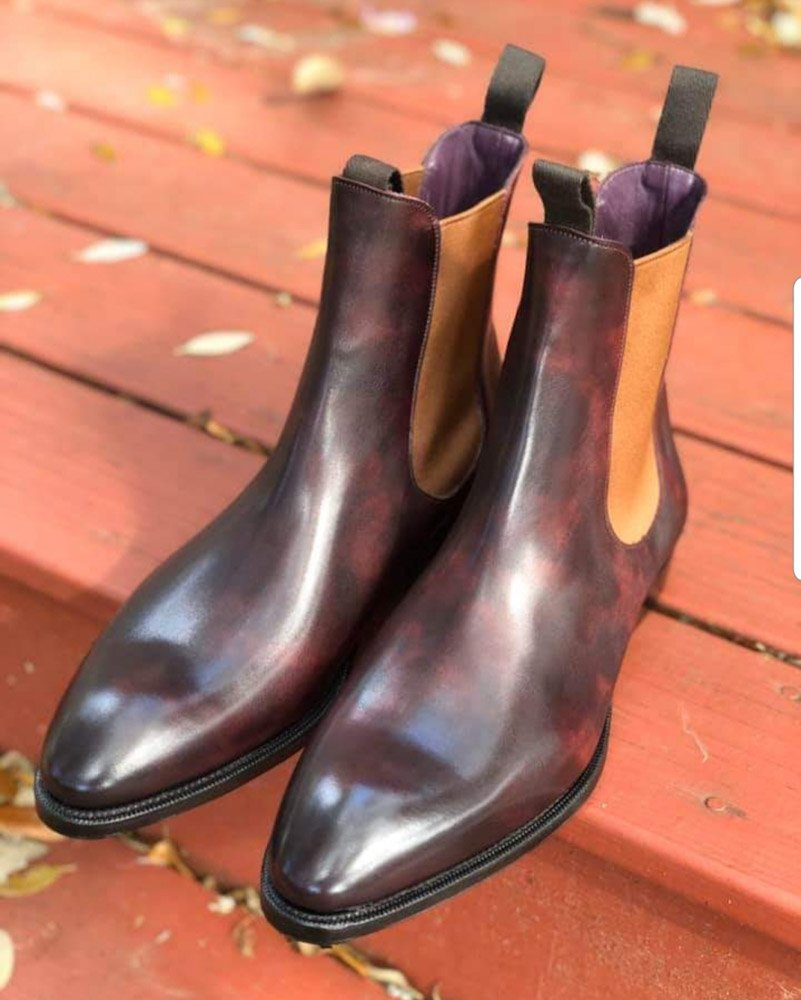 Chelseas with a Twist - Carmina Shoemaker
