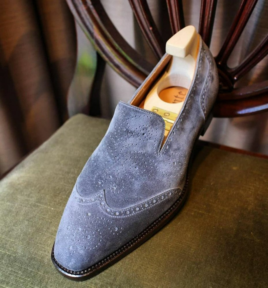 The Brogue Loafer of all Brogued Loafers - Andante Shoemaker
