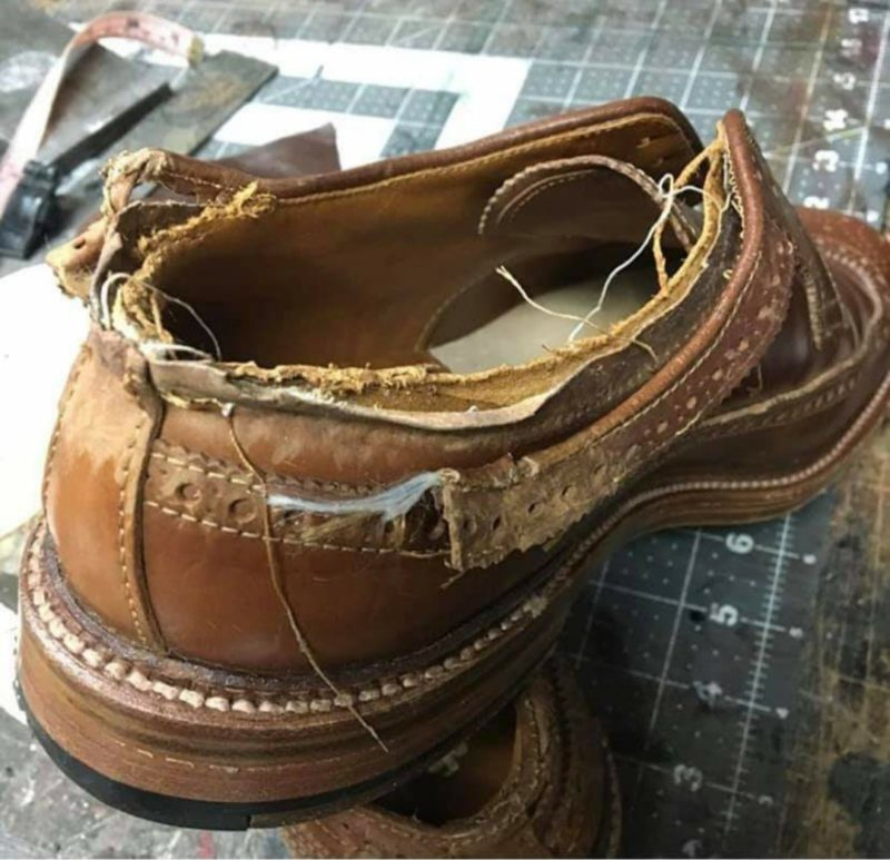 No Shoe Unsalvageable - Bedo's Leatherworks