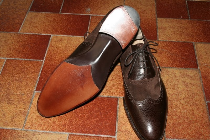 The Appreciation Of A Shoe's Details