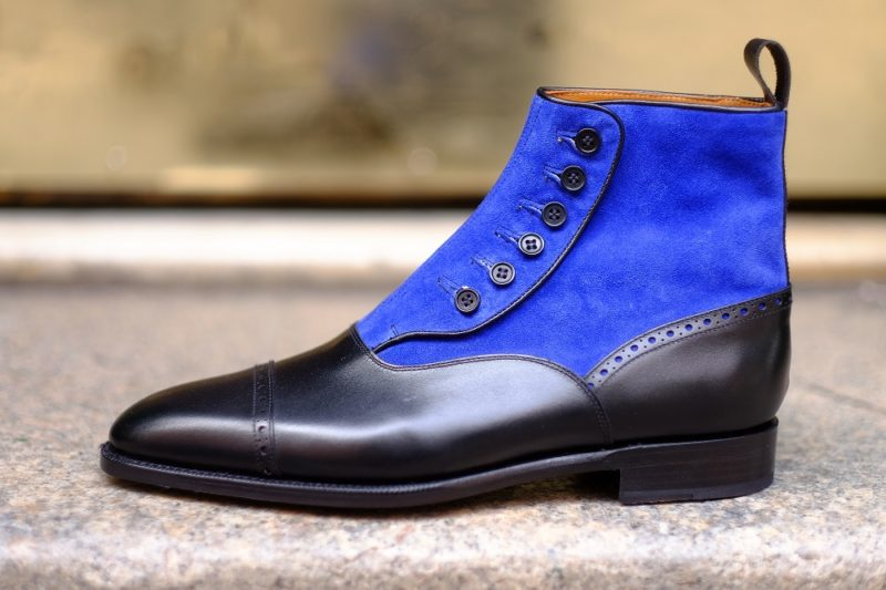 New Button Boots at J.FitzPatrick Footwear
