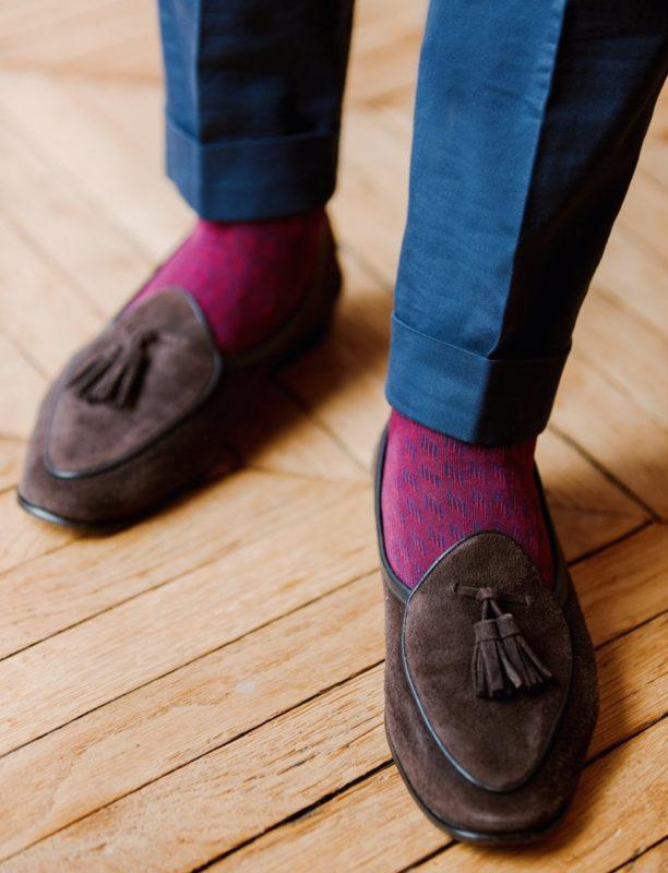 New, Unique Patterns at Mes Chaussettes Rouges