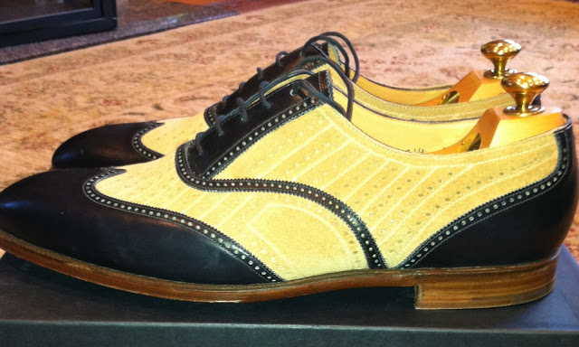Shoes Of The Week - Crockett & Jones MTO Spectator