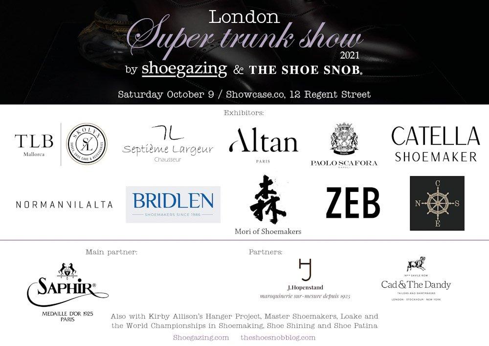London Super Trunk Show 2021 - Update