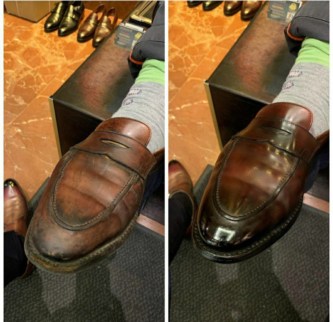 Do Not Condition Brand New Shoes