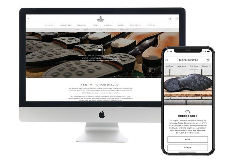 Crockett & Jones Launches Online Retail