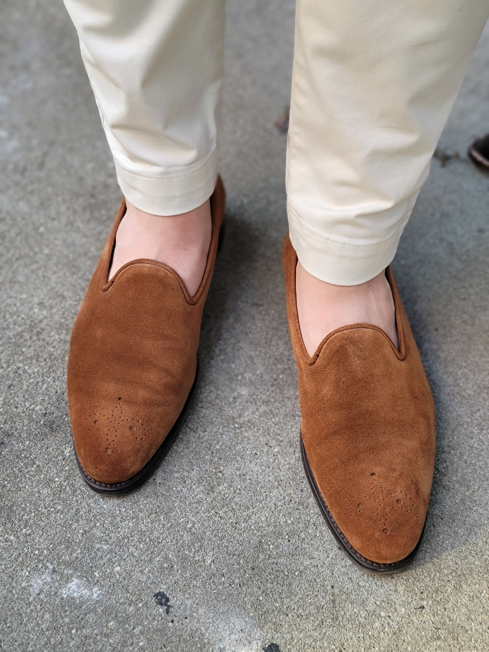 Going Sockless - Yes or No?