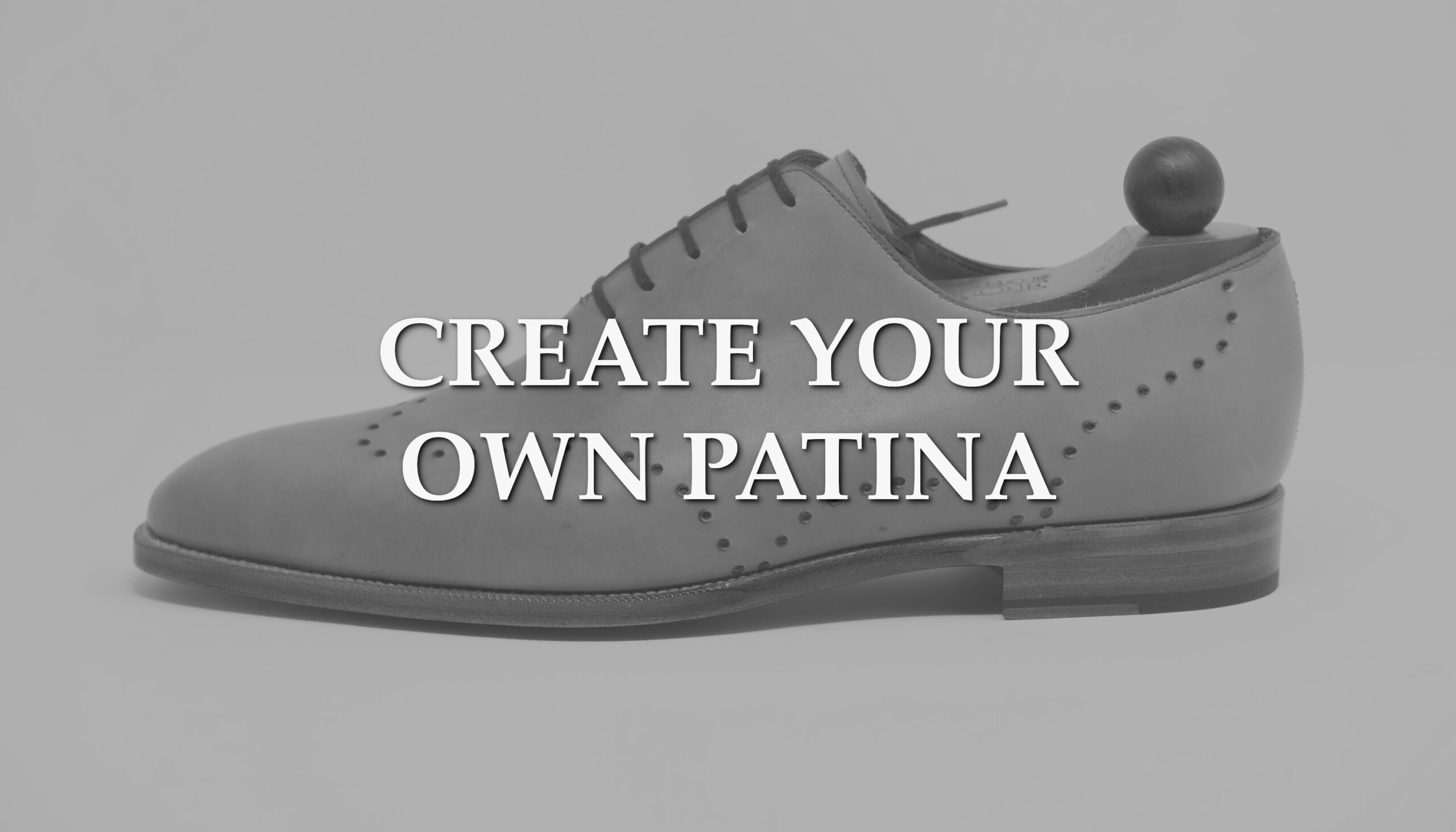 Hancore x J.FitzPatrick Footwear = New Patina Project