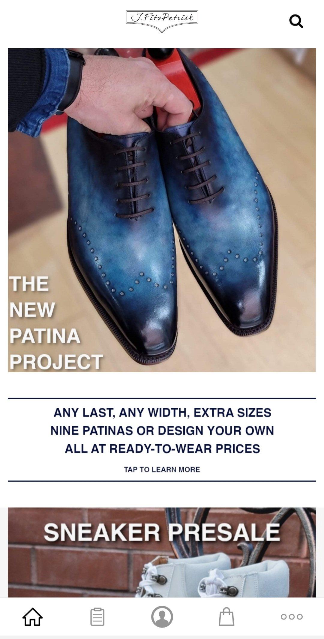 Big Plans at J.FitzPatrick Footwear