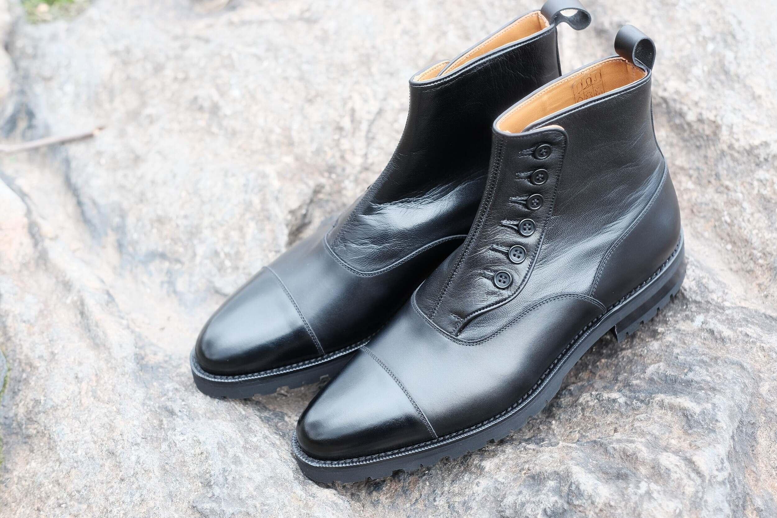 The Commando Button Boot