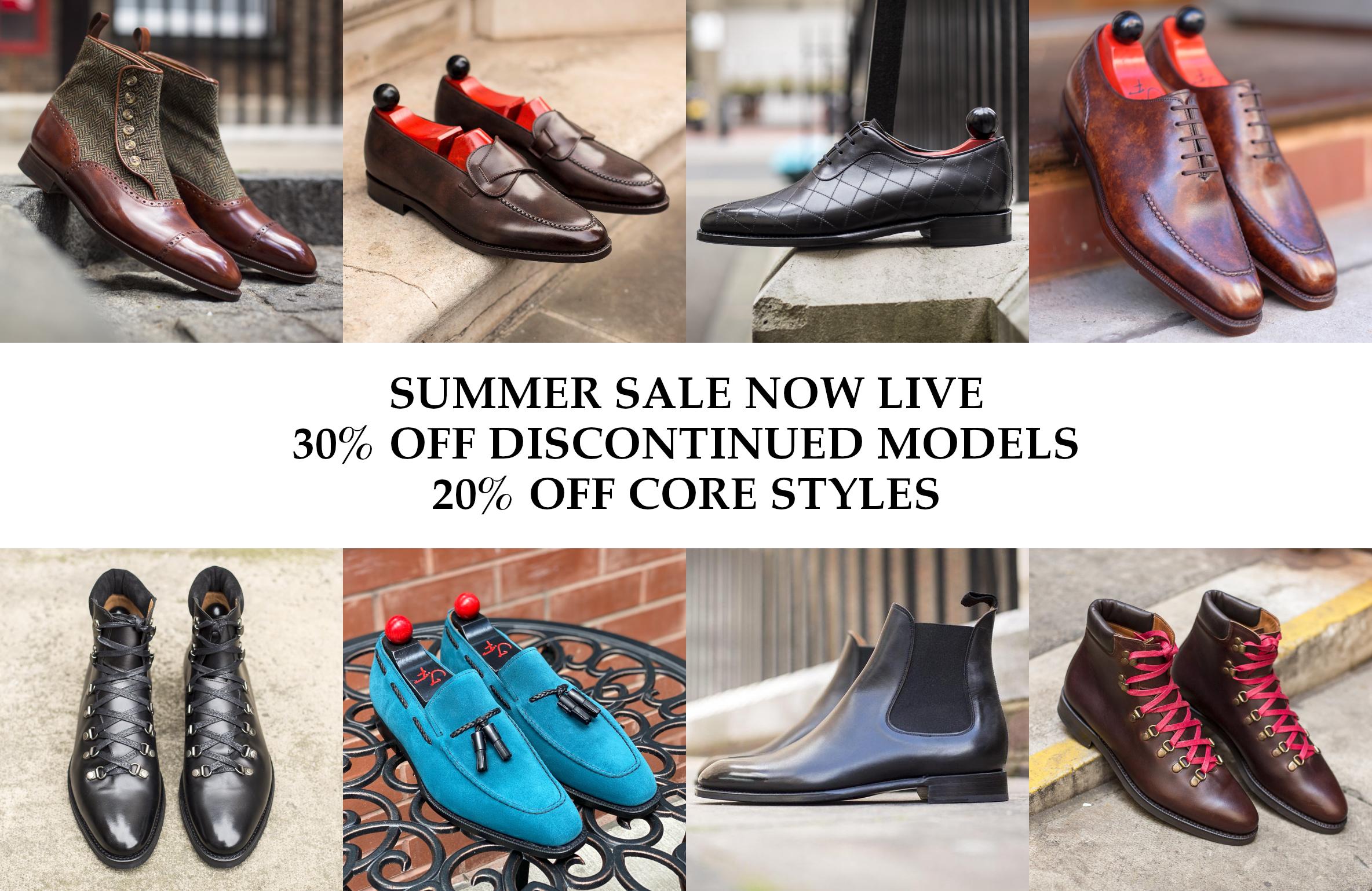 Summer Sale Now Live - J.FitzPatrick Footwear
