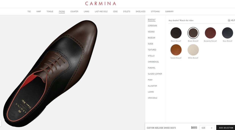 Carmina Launches 3D Customization For MTO Service
