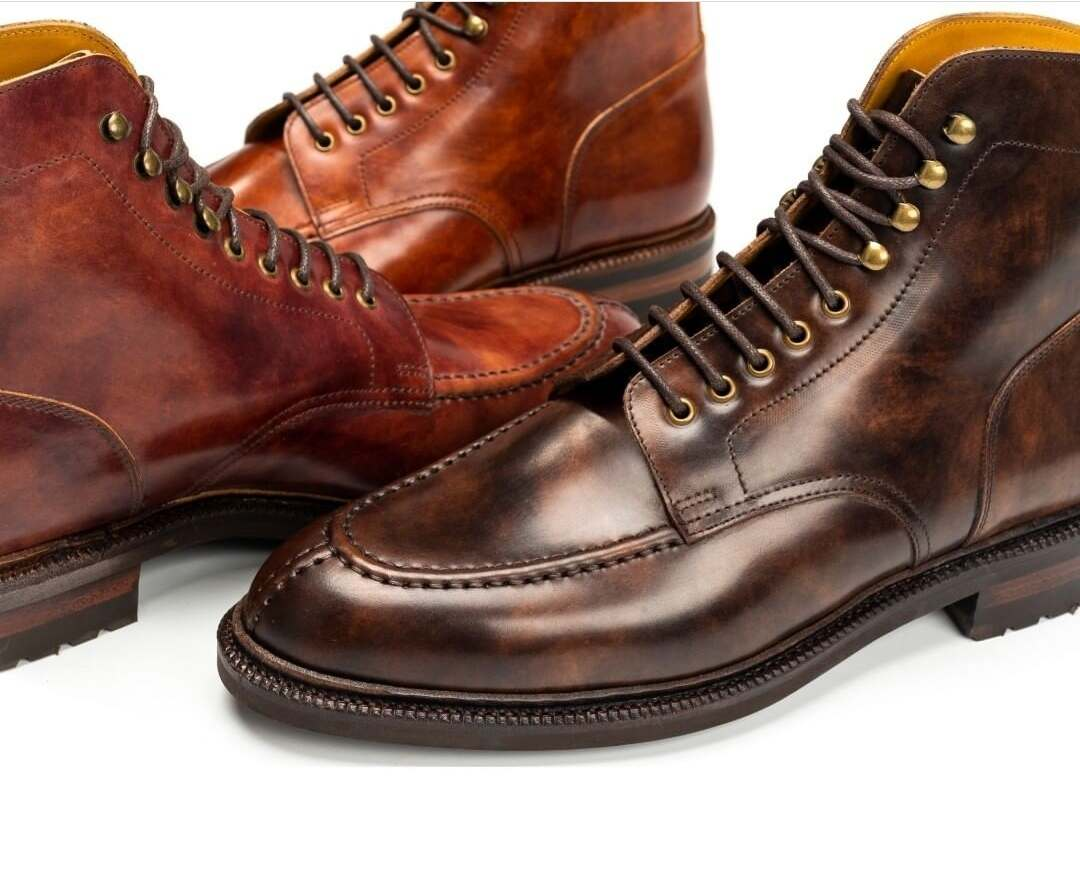 Meermin's Museum Shell Cordovan Boots