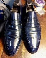 Shoes Of The Week - Berluti's Blue Beauties