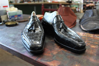 Shoes Of The Week - Crocodile Loafers By Bestetti