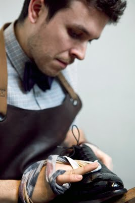 Shoe Snob Picture In GQ UK online
