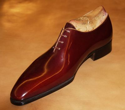 Shoes Of The Week - Dimitri Bottier Seamless Whole Cut