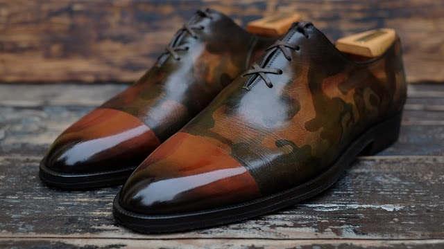 Some More Patina Greatness....More Art Than Shoe!