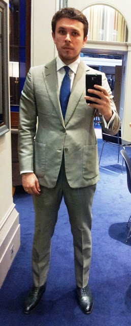 Green Suit, Green Shoes - I Might As Well Be A Martian!