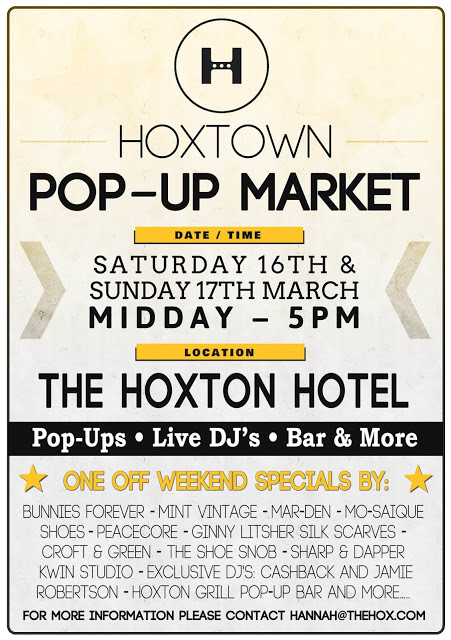 Hoxton Hotel Pop Up in London
