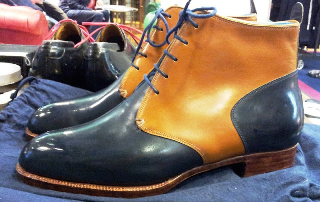 Two Toned Darby Boot by Carreducker