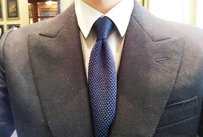What I Am Wearing - My First Bespoke Suit!