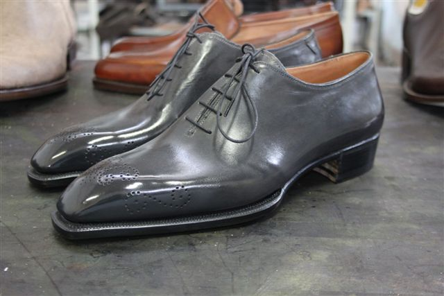 Shoes Of The Week - Bestetti Gray Wholecuts
