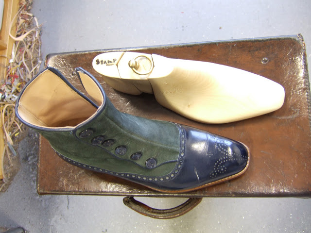A Beautiful Spat Boot by Stamp