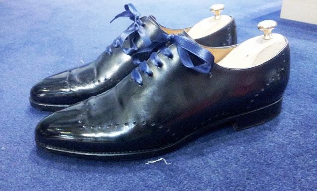 Black Patent Shoes - No Longer Necessary....