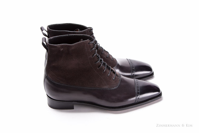 Gray Balmoral Boots?.....YES, PLEASE!