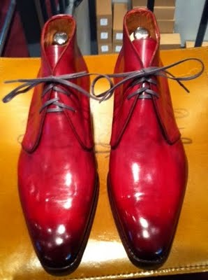 Shoes Of The Week - Septieme Larguer's Colored Shoes