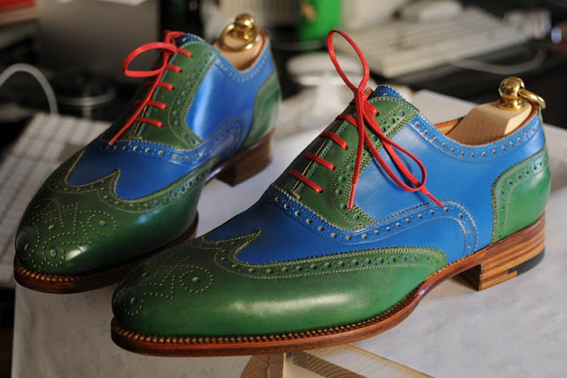 Shoes Of The Week - Stefano Bemer Spectators MTO