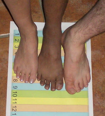 Shoe Sizing.....Yet Another Thing To Work Out