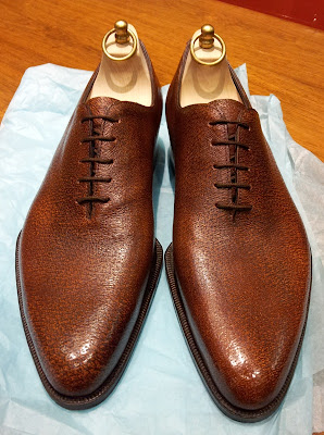 Shoes Of The Week - Pigskin Wholecuts by Carreducker