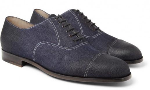 Today's Favorites - Bottega Veneta - Denim Dress Shoes