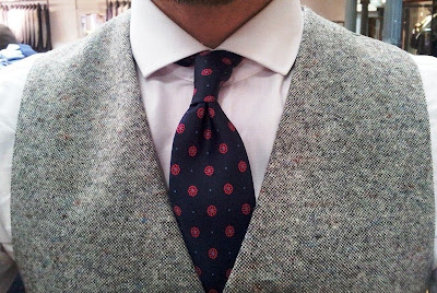 What I Am Wearing - E.G. Cappelli Tie