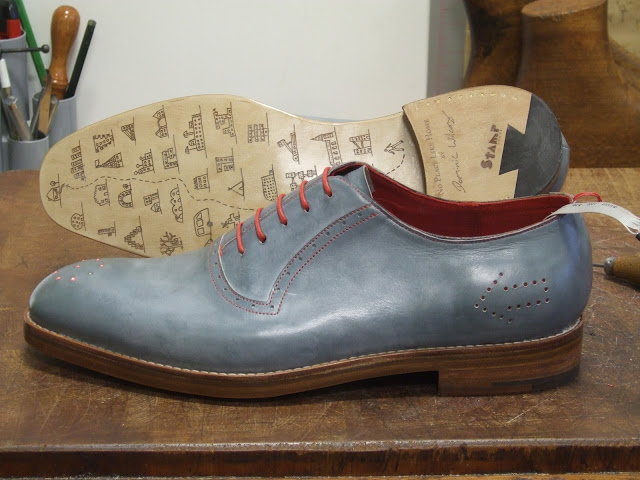 Stamp Shoes....with GPS capabilities....