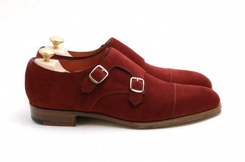 Today's Favorites - Red Suede Edward Greens
