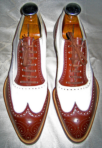 Shoes Of The Week - Vintage Spectators