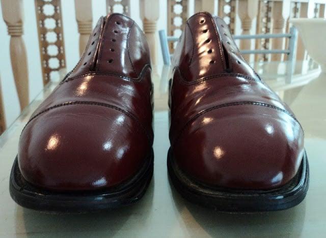 Restoring Old Shoes