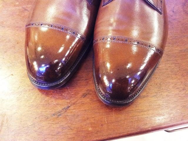The Burnished Toe
