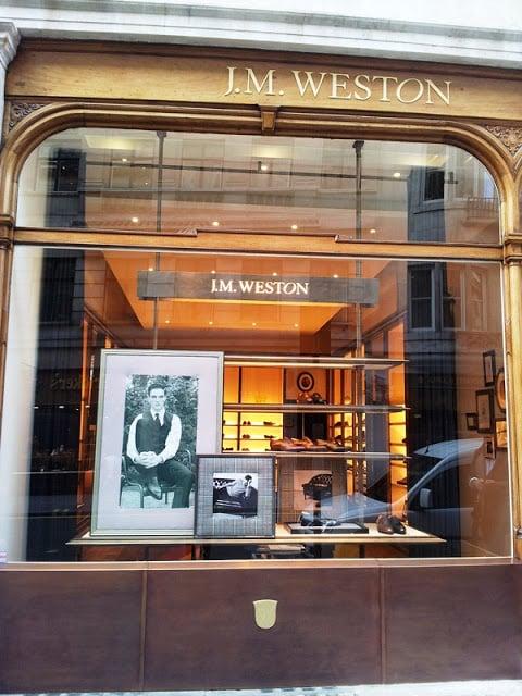 J.M. Weston's New Shop On Jermyn St.