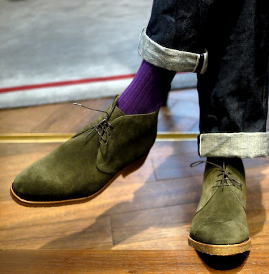 The Next Big Trend: Colored Chukka Boots