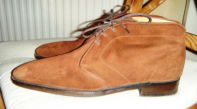 My Shoes #7 - Stefano Bemer Suede Chukka's