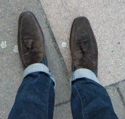 My Shoes #8 - Ferragamo Tassel Loafers