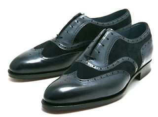 Today's Favorites - Edward Green's Midnight Colored Shoes
