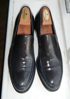 My Shoes #11 - Gray Ferragamos